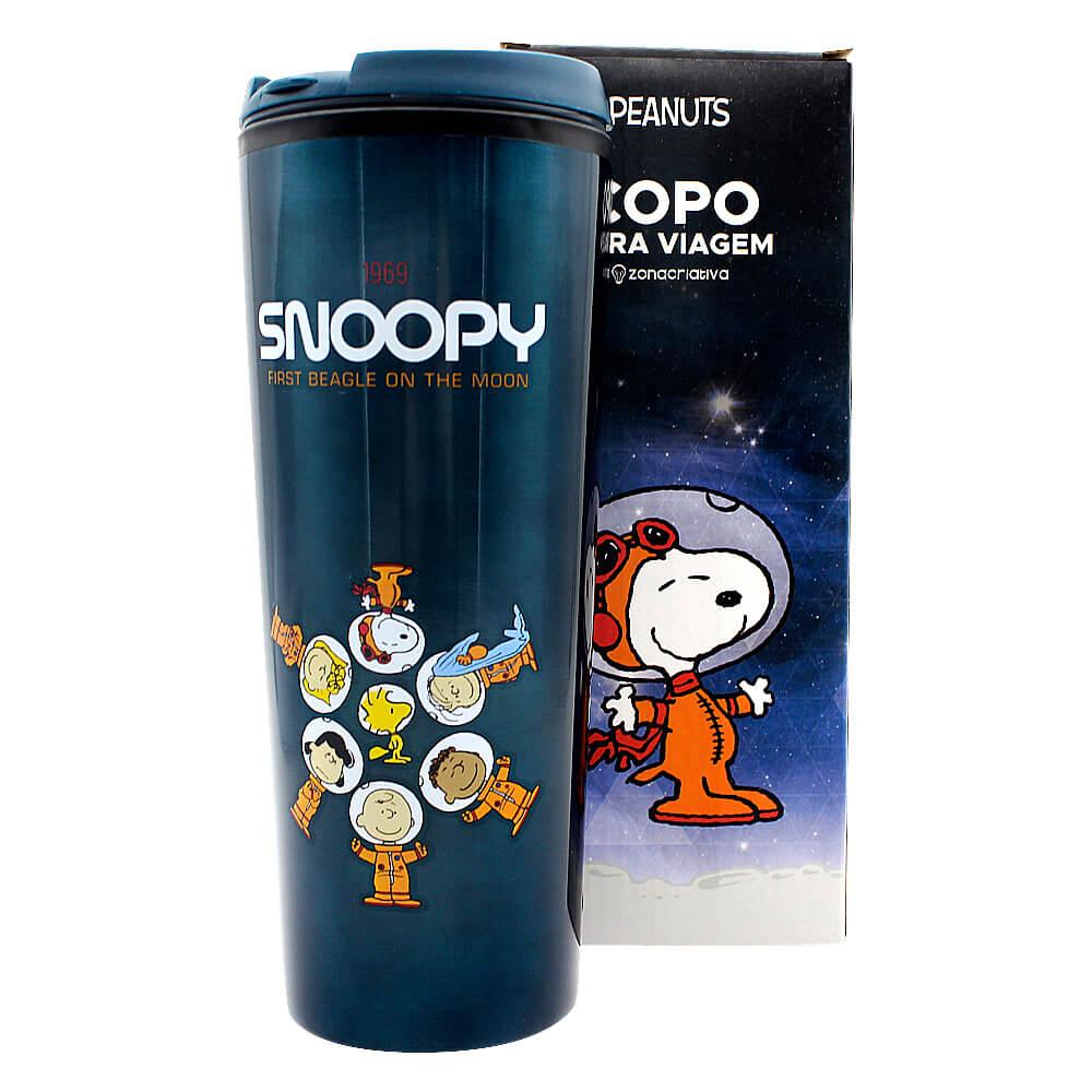 Copo Viagem - Space Snoopy