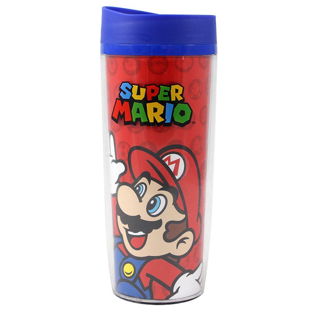 Copo Viagem Super Mario