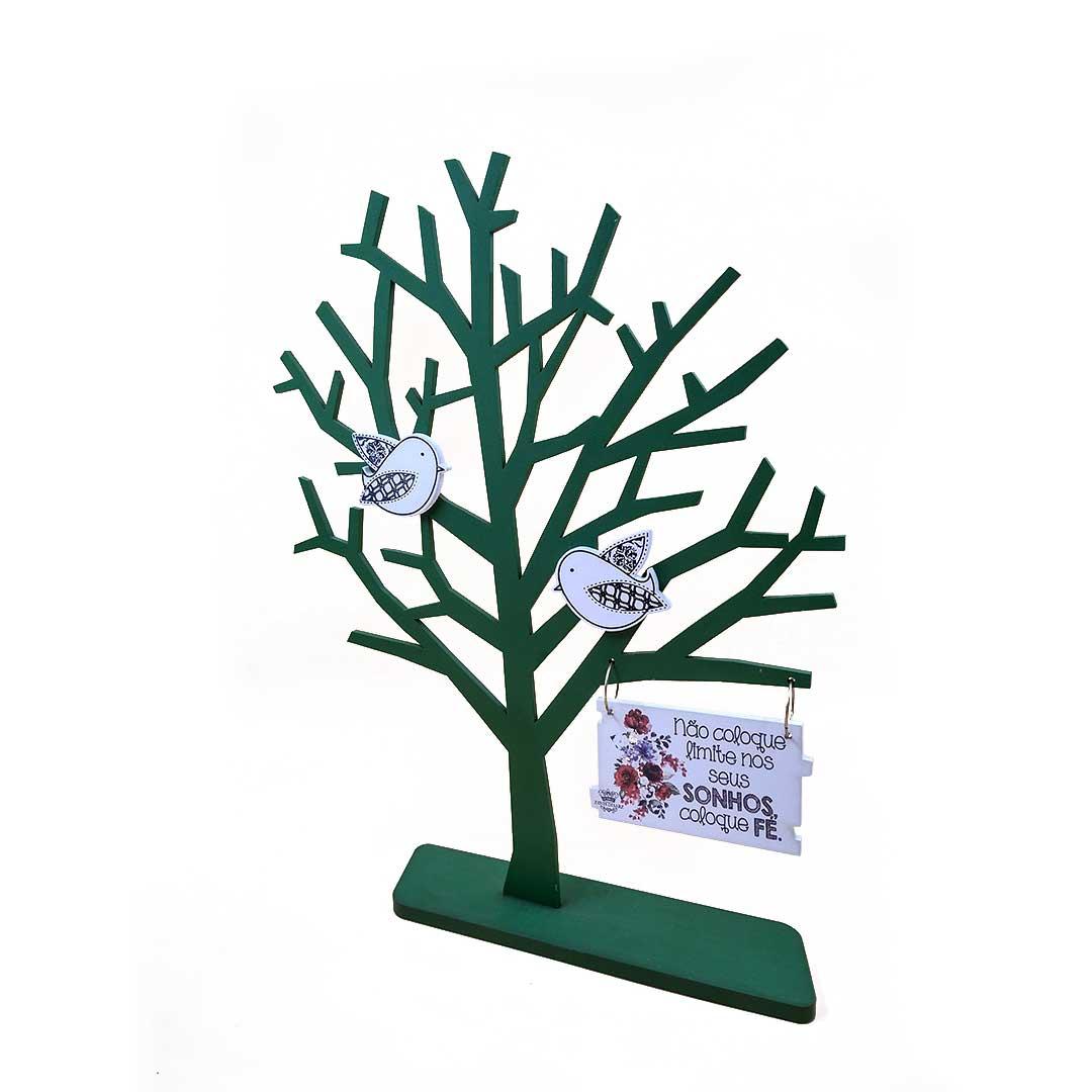 Enfeite Árvore Galhos - Não Coloque Limite Verde