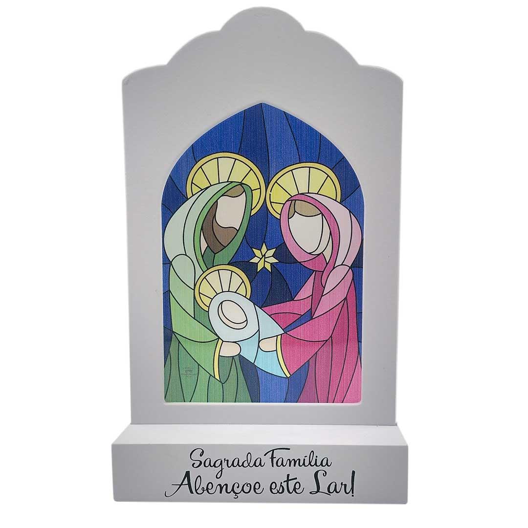Enfeite com Vitral - Sagrada Família