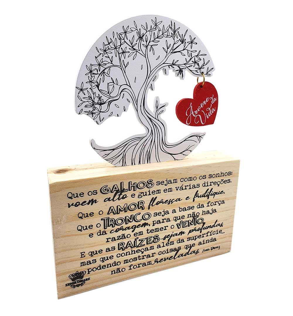 Enfeite de Mesa - Árvore da Vida
