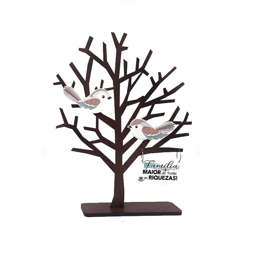Enfeite de Mesa - Árvore | Família Maior de Todas as Riquezas