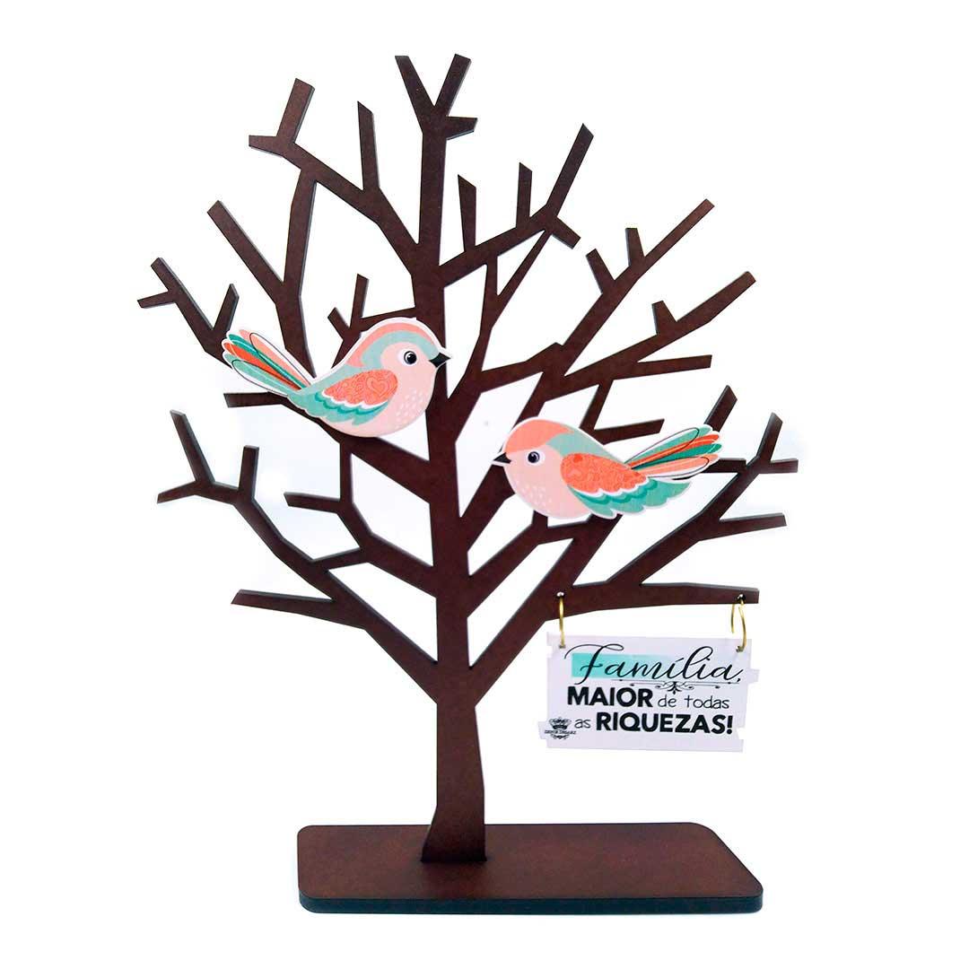 Enfeite de Mesa Árvore - Família, Maior de Todas as Riquezas