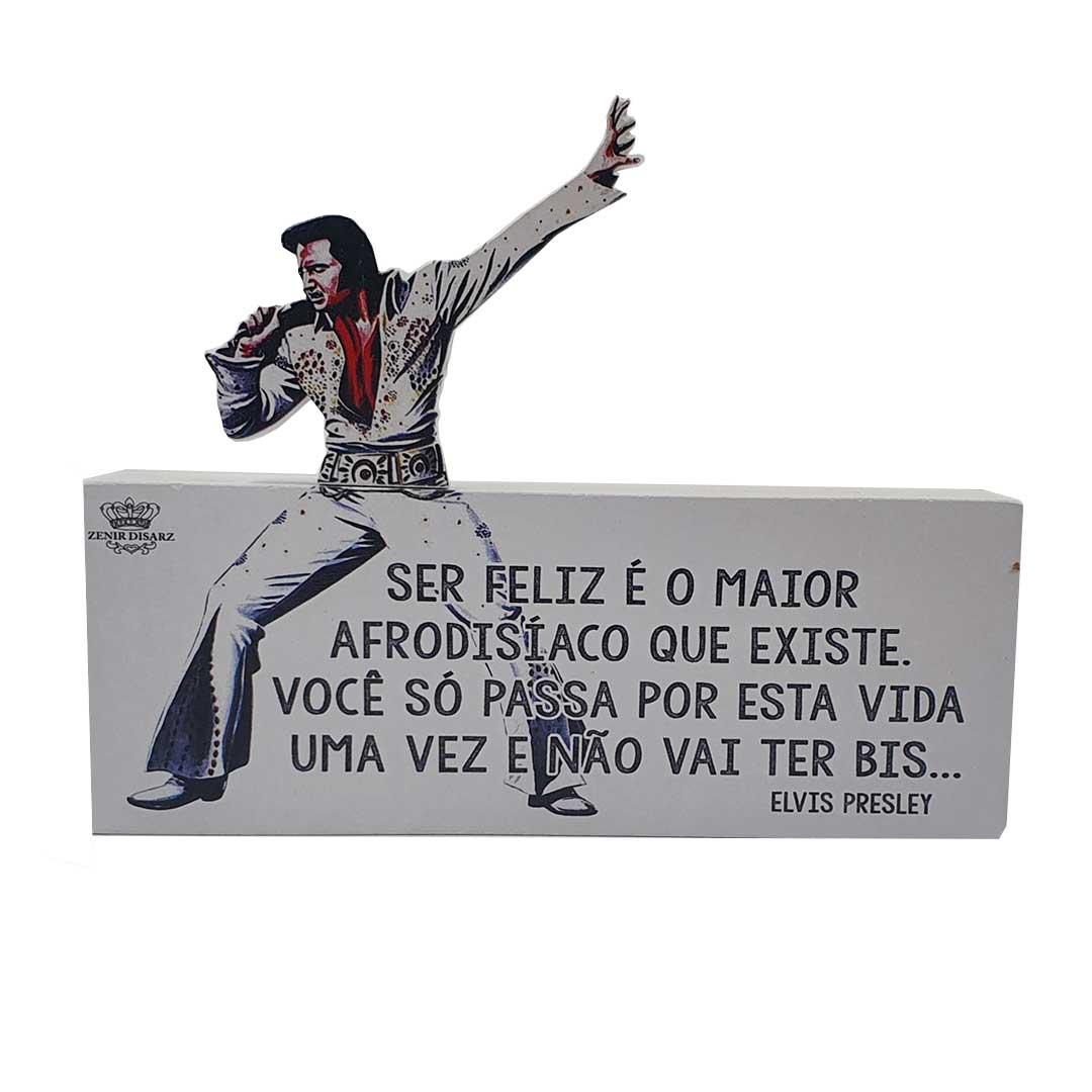 Enfeite de Mesa - Elvis Presley