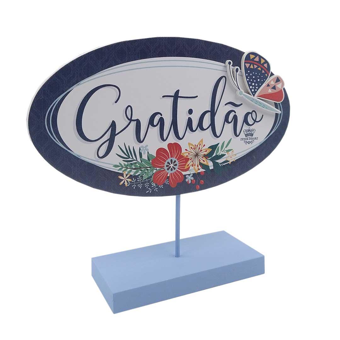 Enfeite de Mesa - Gratidão