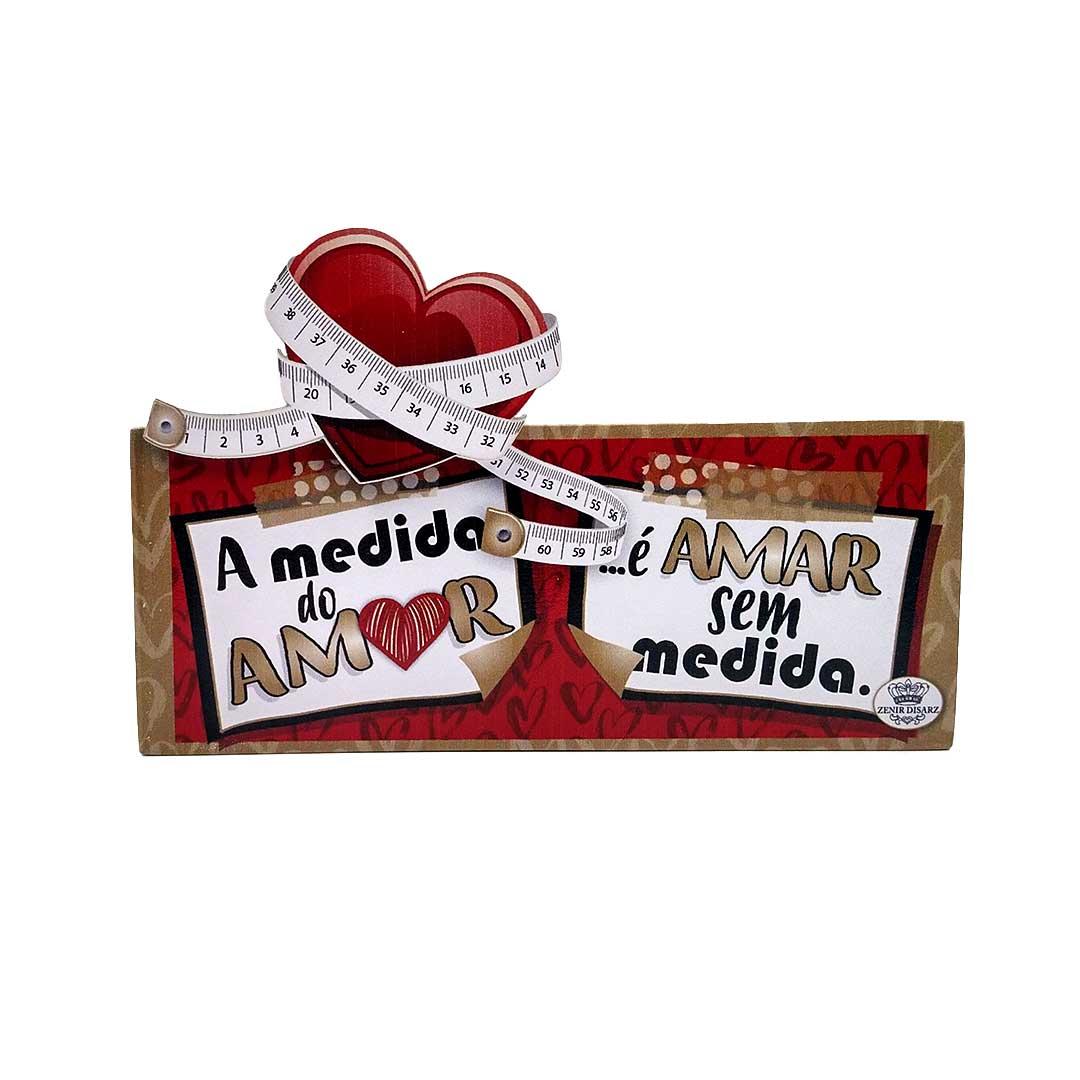 Enfeite de Mesa - Medida do Amor