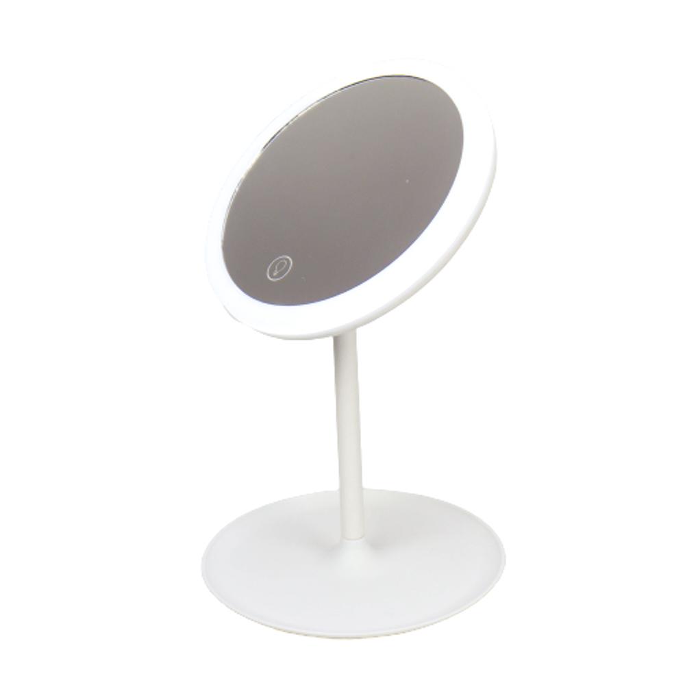 Espelho de Maquiagem - Led e Touch Branco