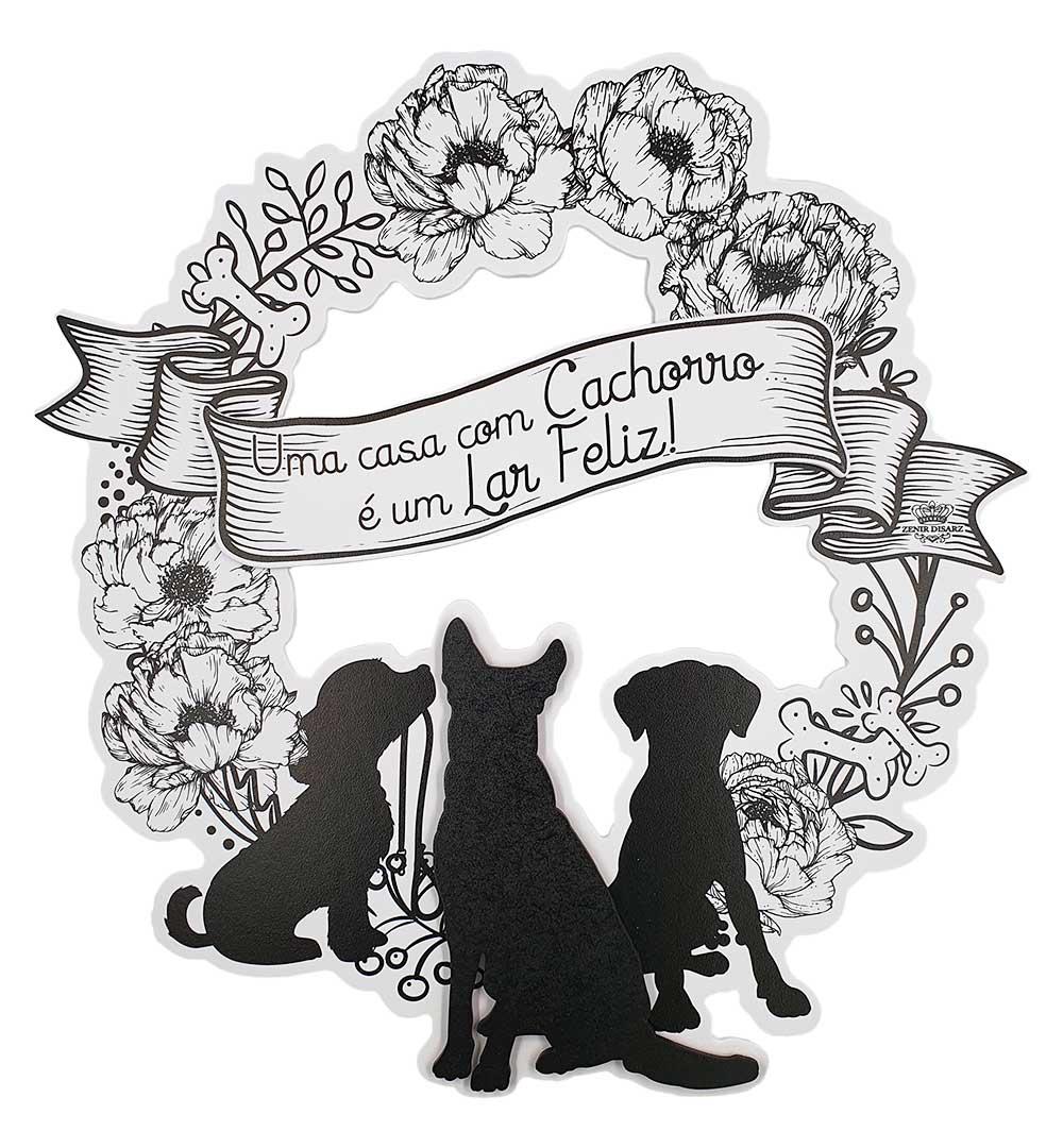 Guirlanda uma Casa com Cachorro