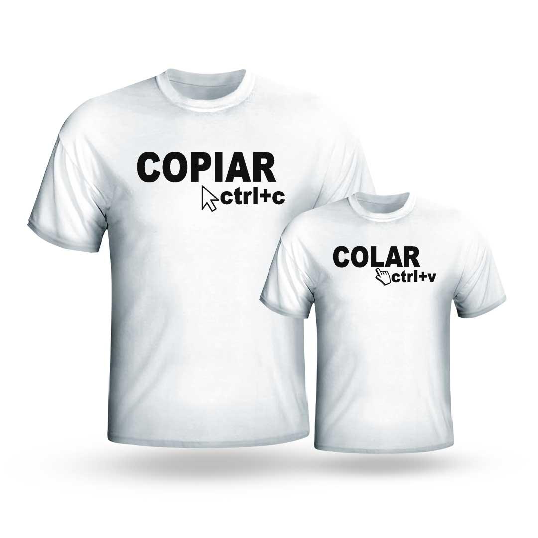 Kit Camisas - Copiar, Colar