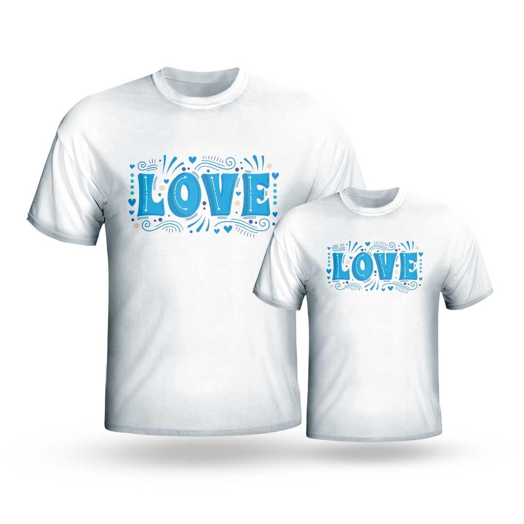 Kit Camisas - Love