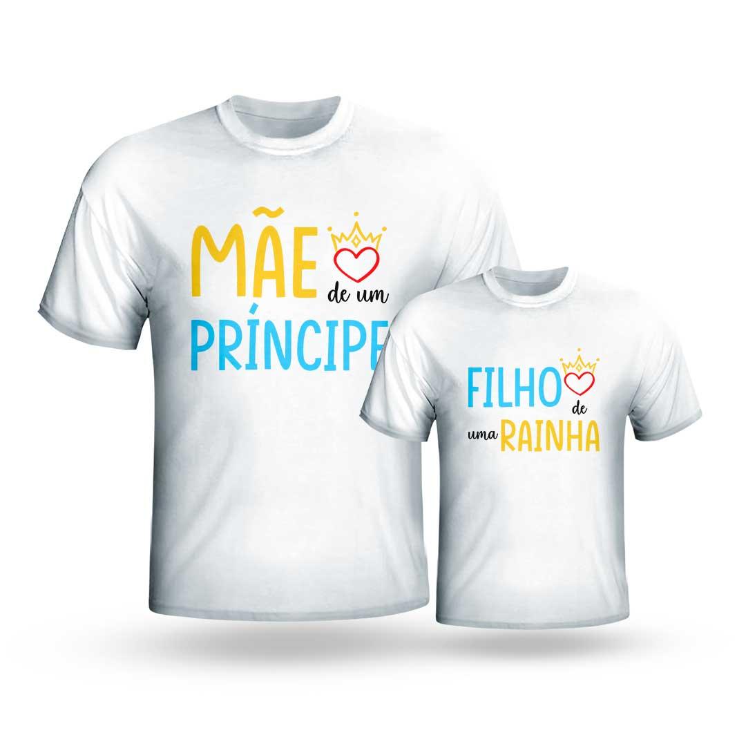Kit Camisas - Mãe de Príncesa