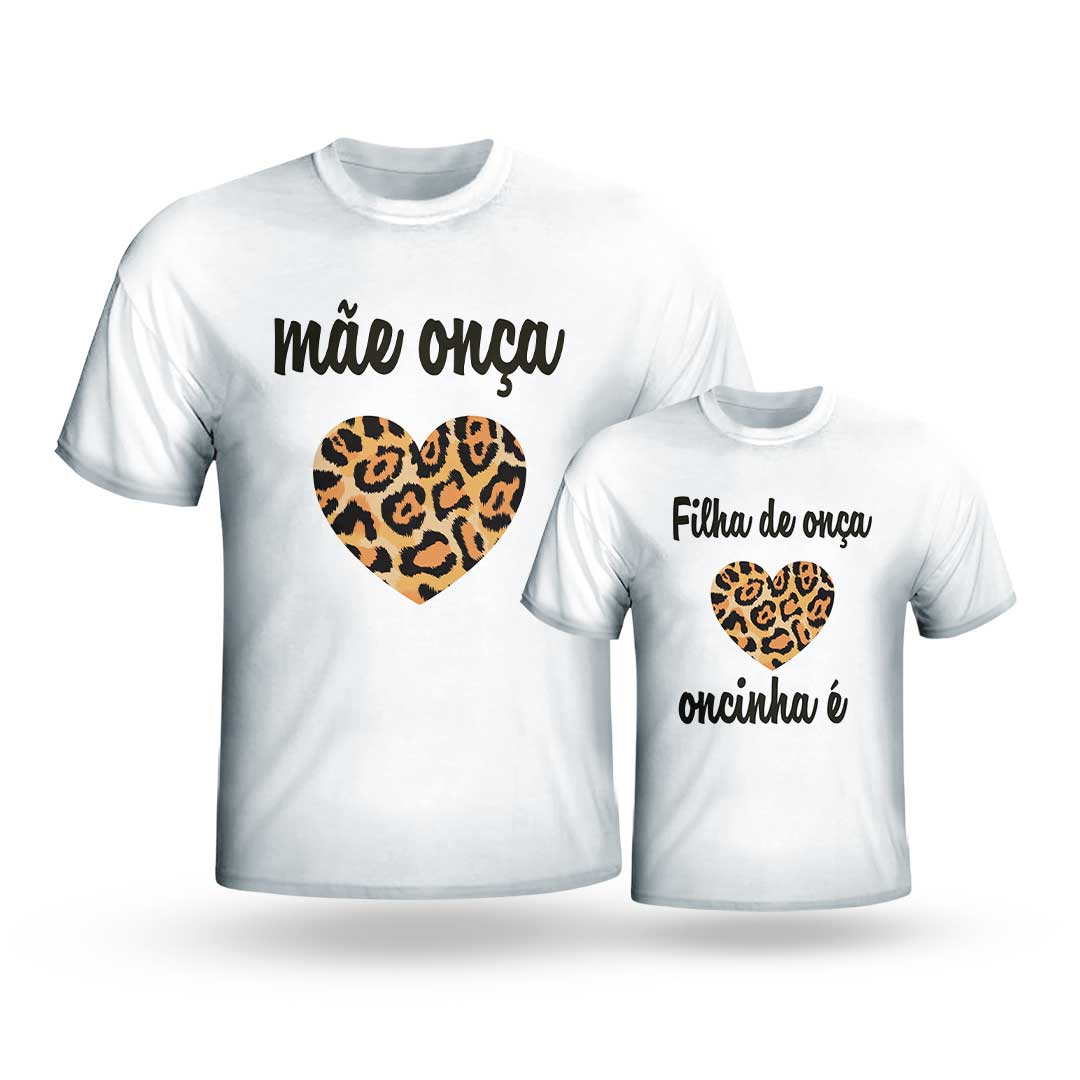 Kit Camisas - Mãe Onça