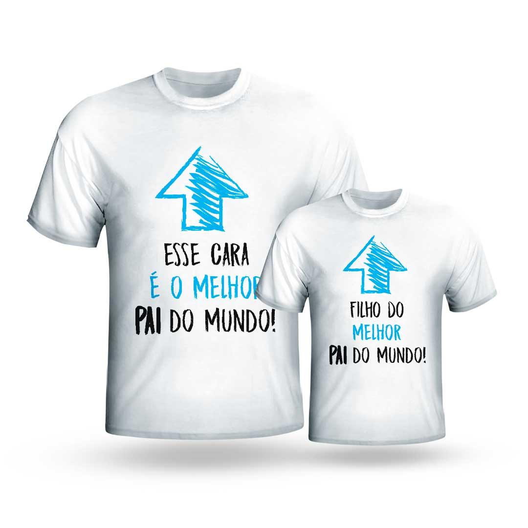 Kit Camisas - Melhor Pai, Melhor Filho