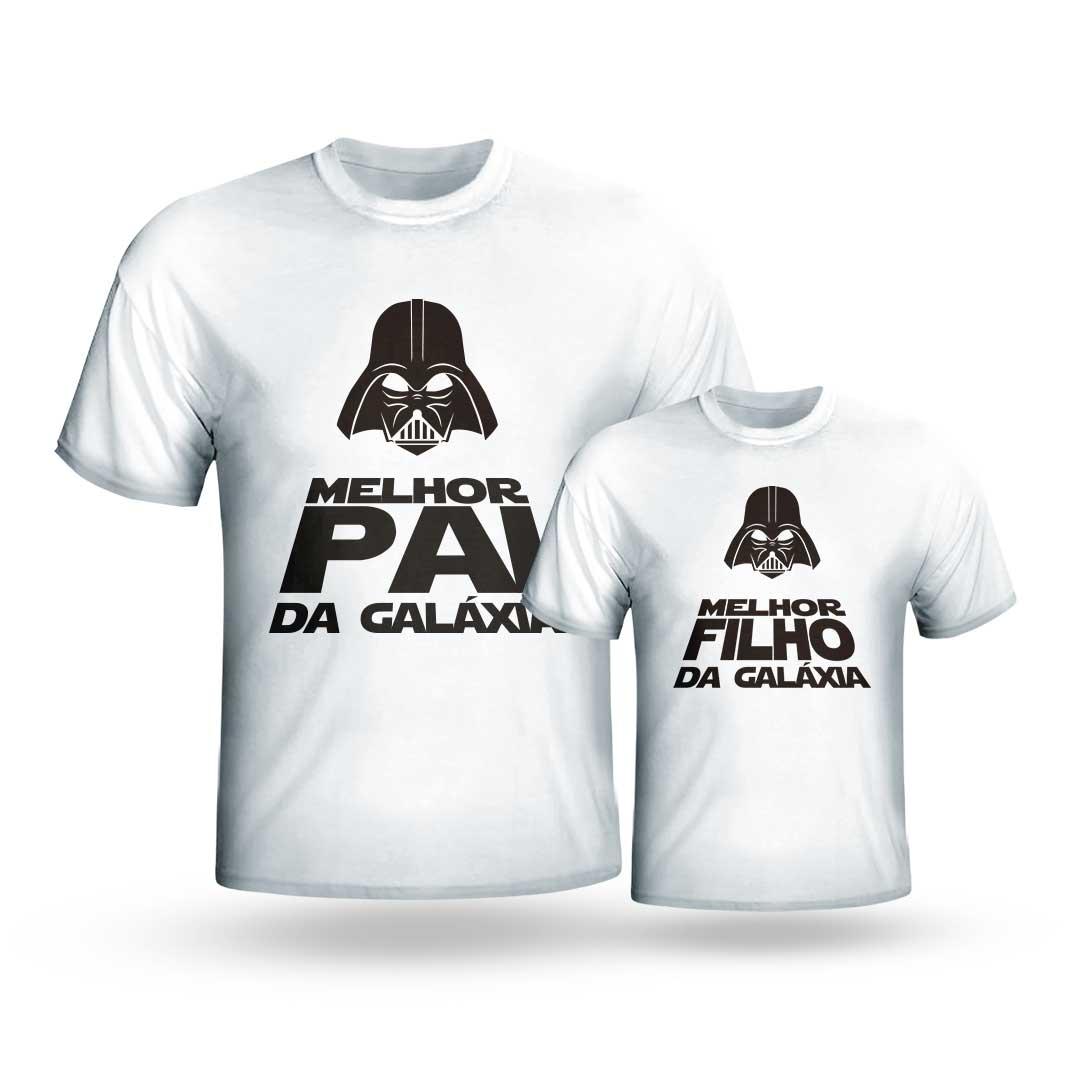 Kit Camisas - Melhores da Galáxia