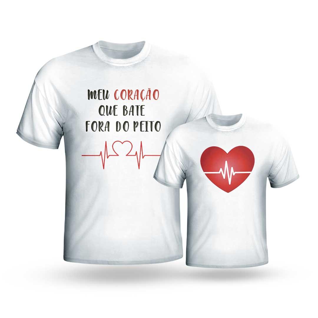 Kit Camisas - Meu Coração Fora do Peito II