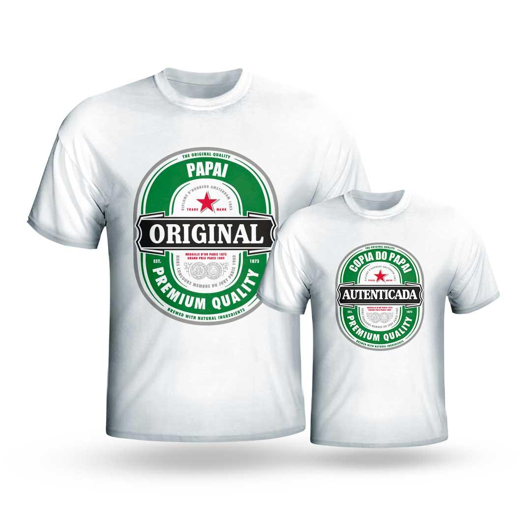 Kit Camisas - Original e Cópia Premium