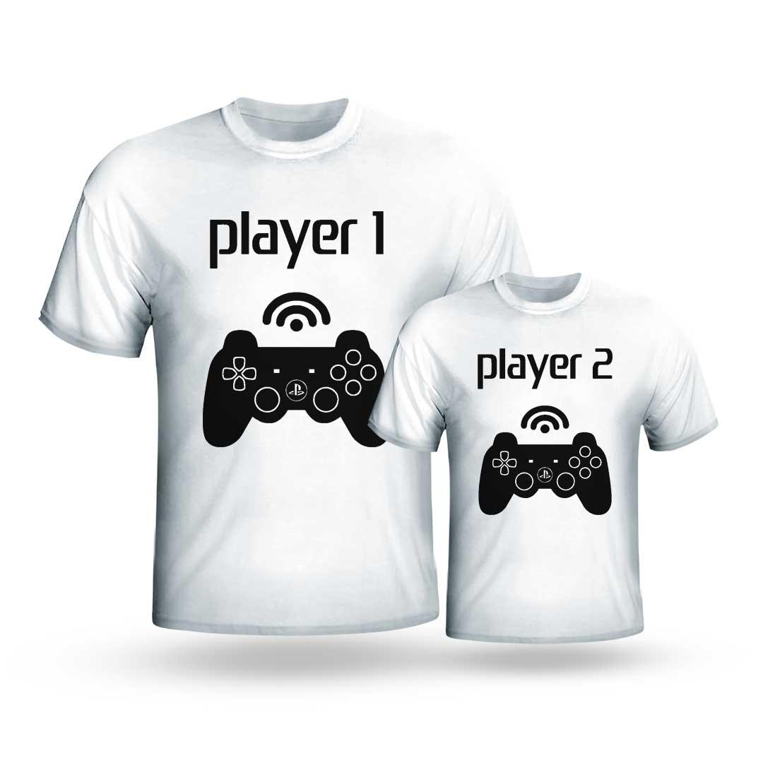 Kit Camisas - Player 1, Player 2