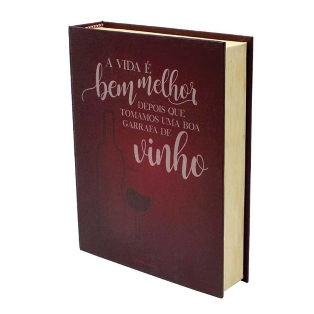 Kit Vinho - Livro   Boa Garrafa