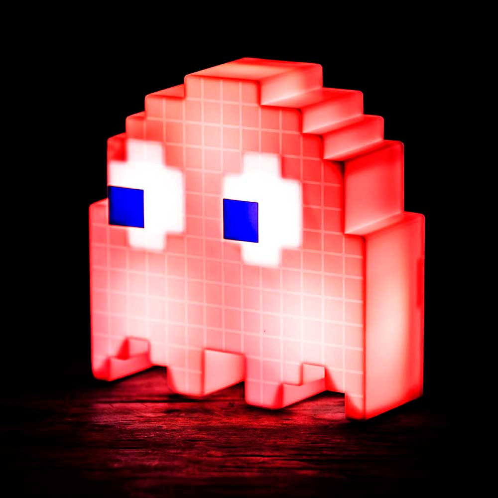 Luminária - Pac-Man | Fantasminha Vermelho