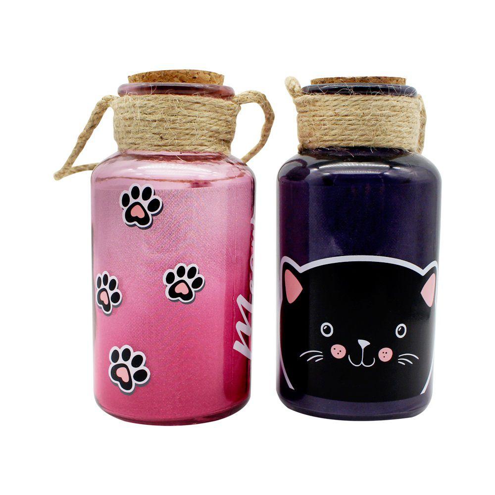 Luminárias de Pote Meow