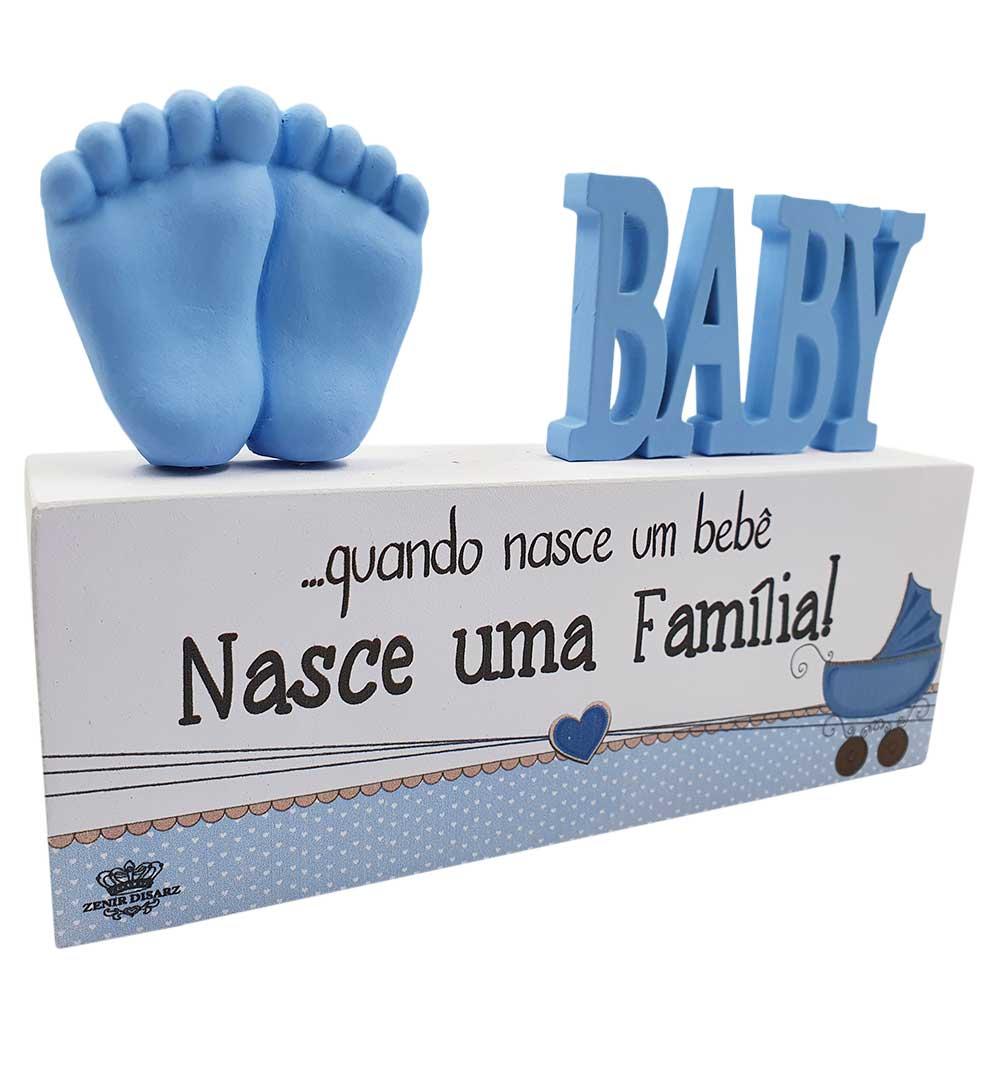 Madeirinha Baby Azul