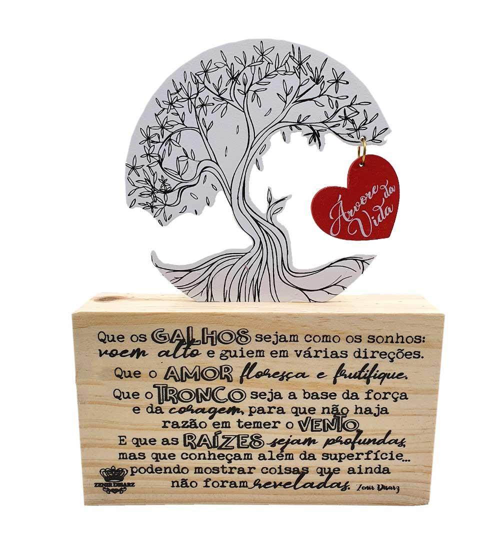 Madeirinha Cru Árvore da Vida