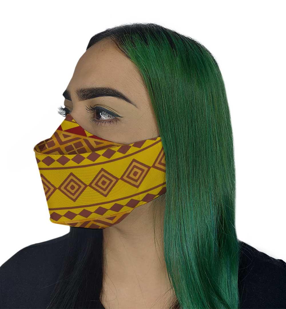 Máscara 3D - Afro I