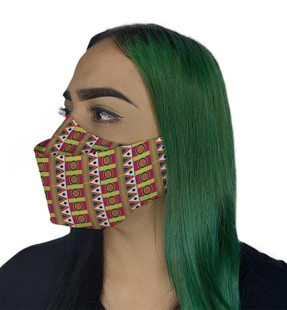 Máscara 3D - Afro II