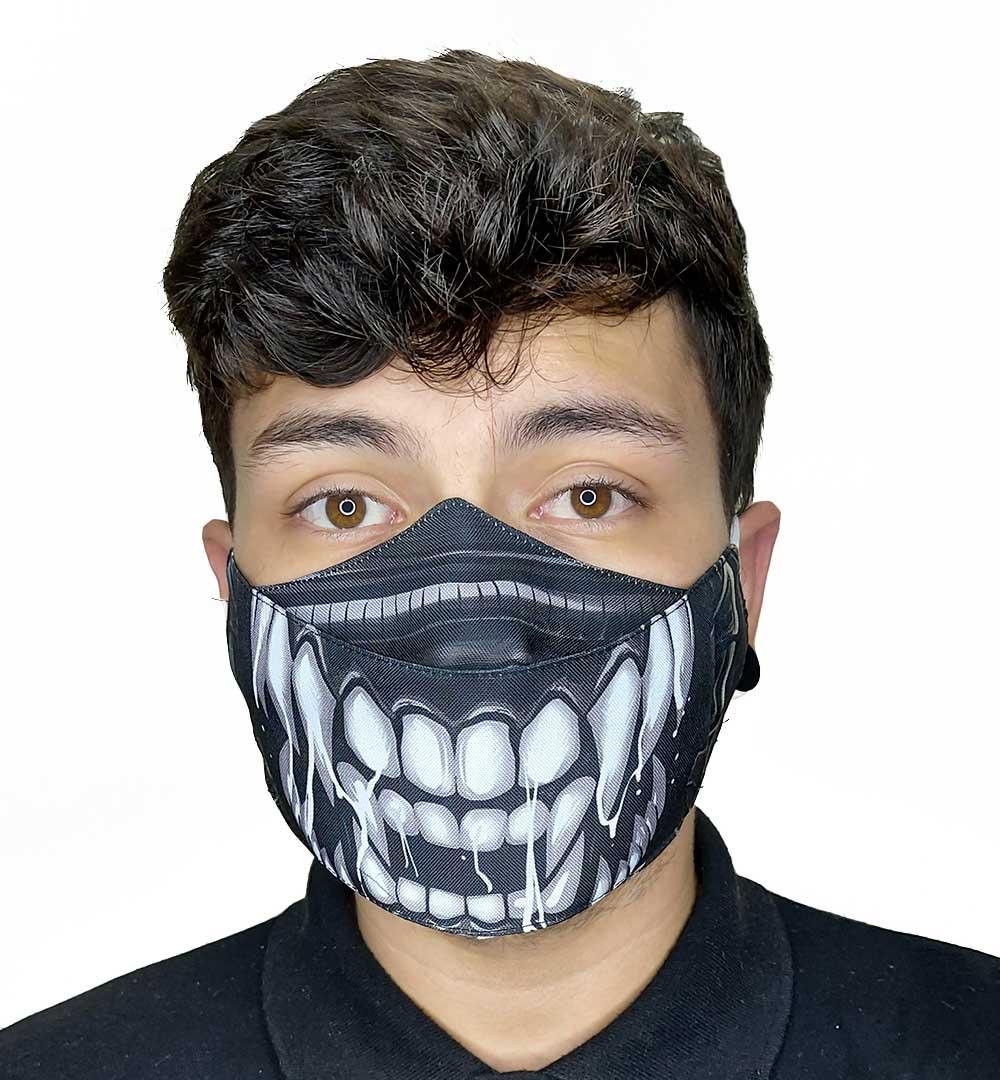 Máscara 3D Alien