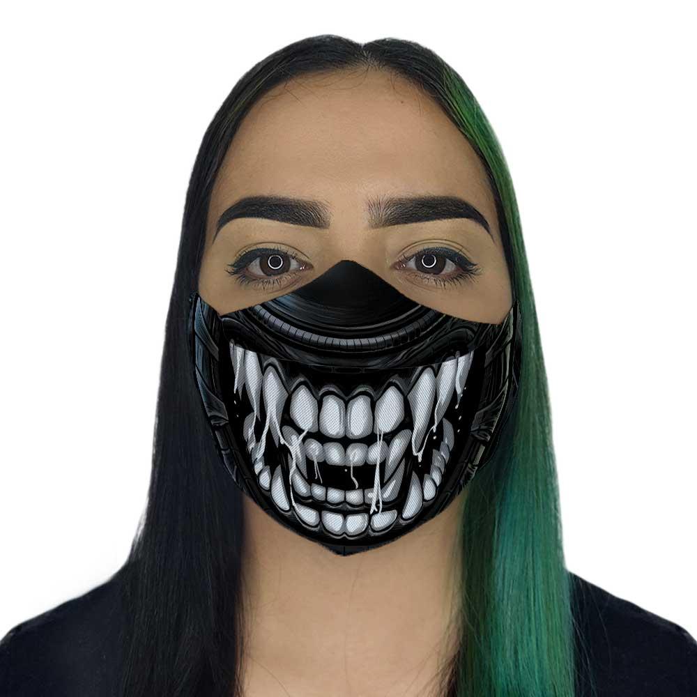 Máscara 3D - Alien