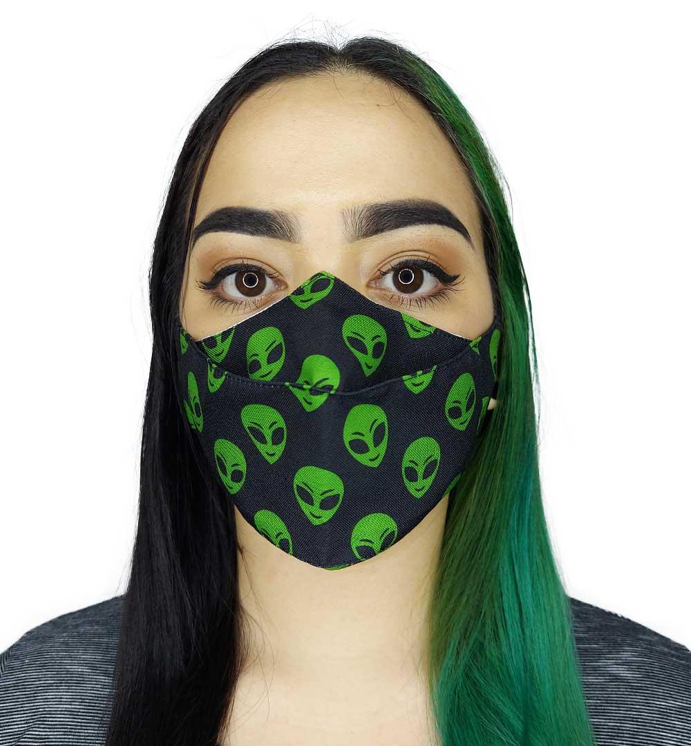 Máscara 3D Aliens