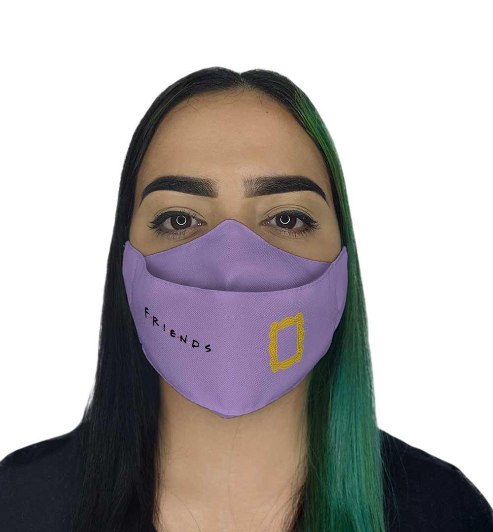 Máscara 3D - Amigos