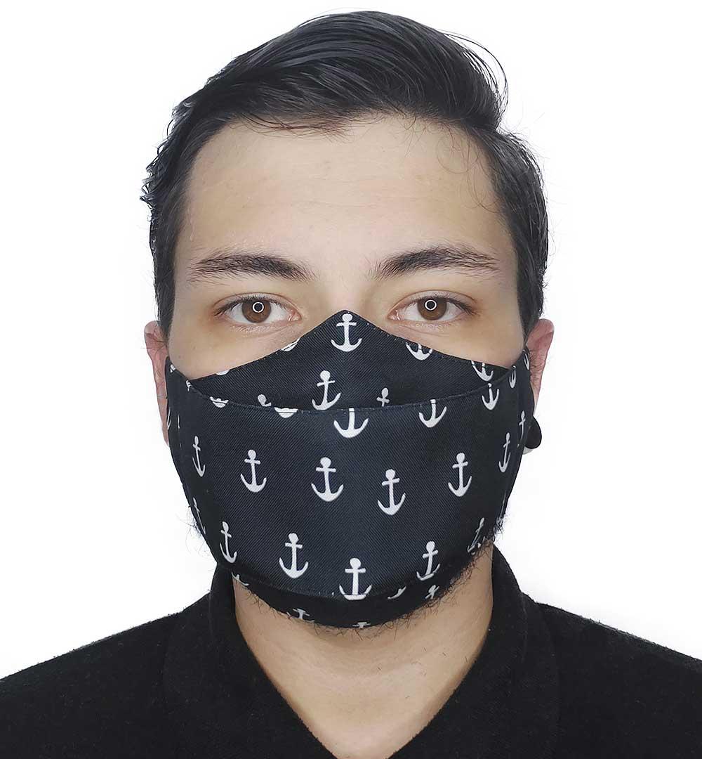 Máscara 3D Âncoras