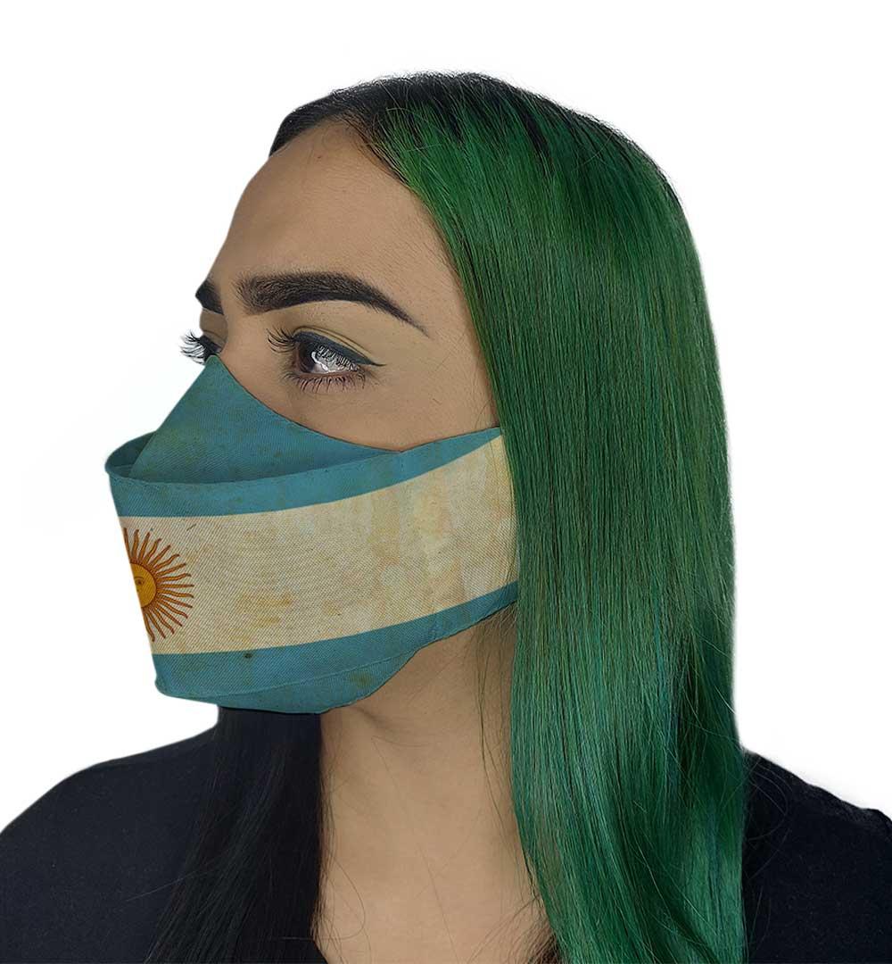Máscara 3D - Argentina