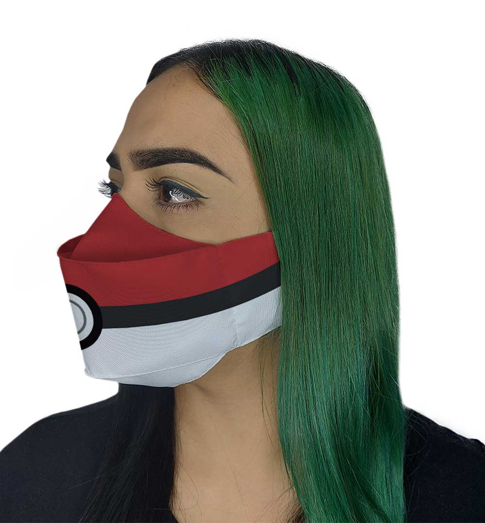 Máscara 3D - Bola