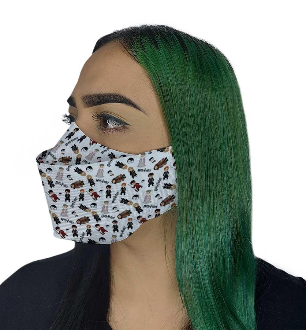 Máscara 3D - Bruxinhos