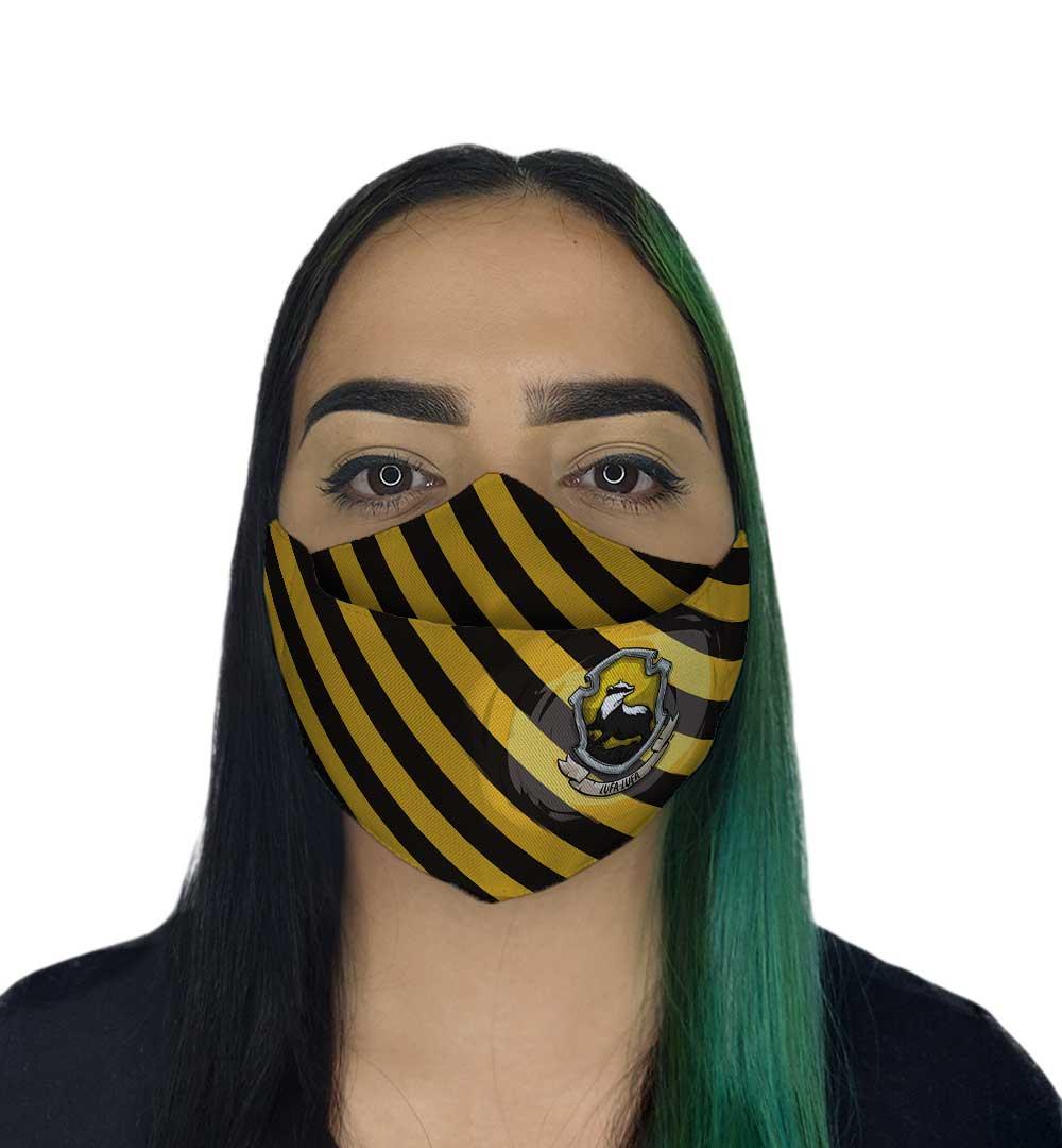 Máscara 3D - Bruxo Amarela