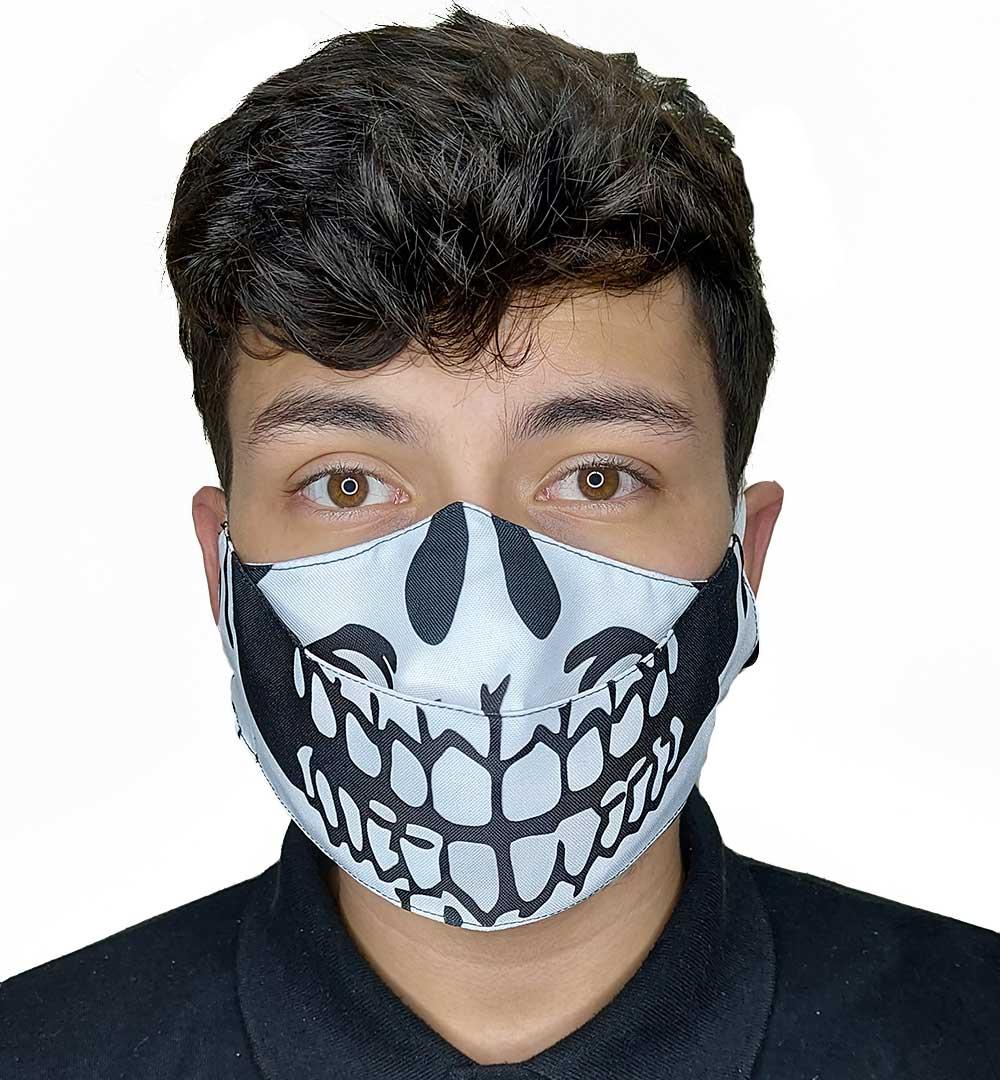 Máscara 3D Caveira