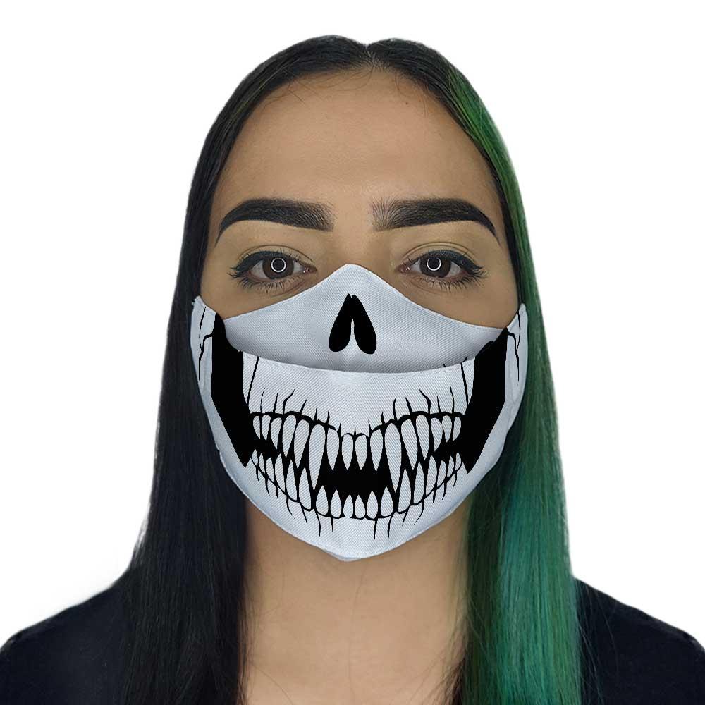 Máscara 3D - Caveira II