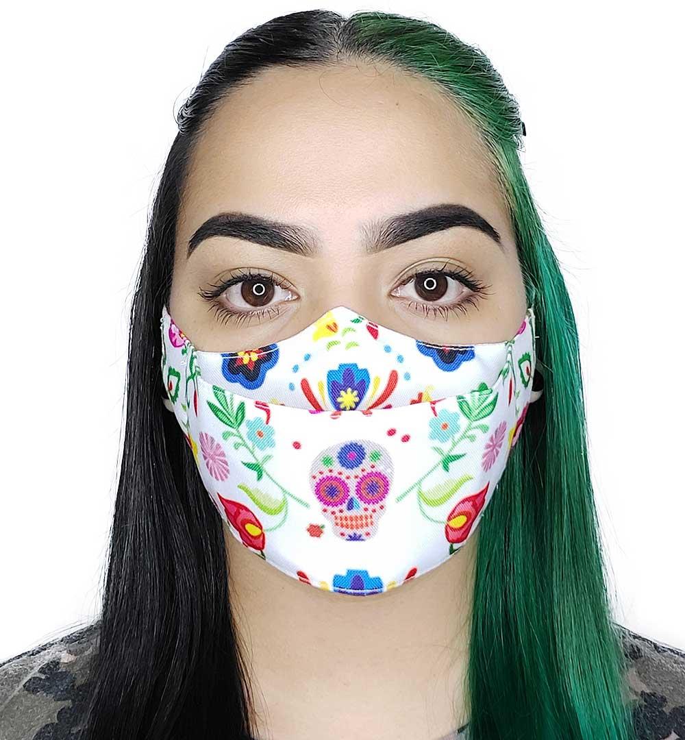 Máscara 3D Caveira Mexicana II