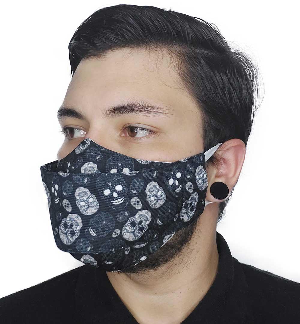 Máscara 3D Caveira Mexicana III