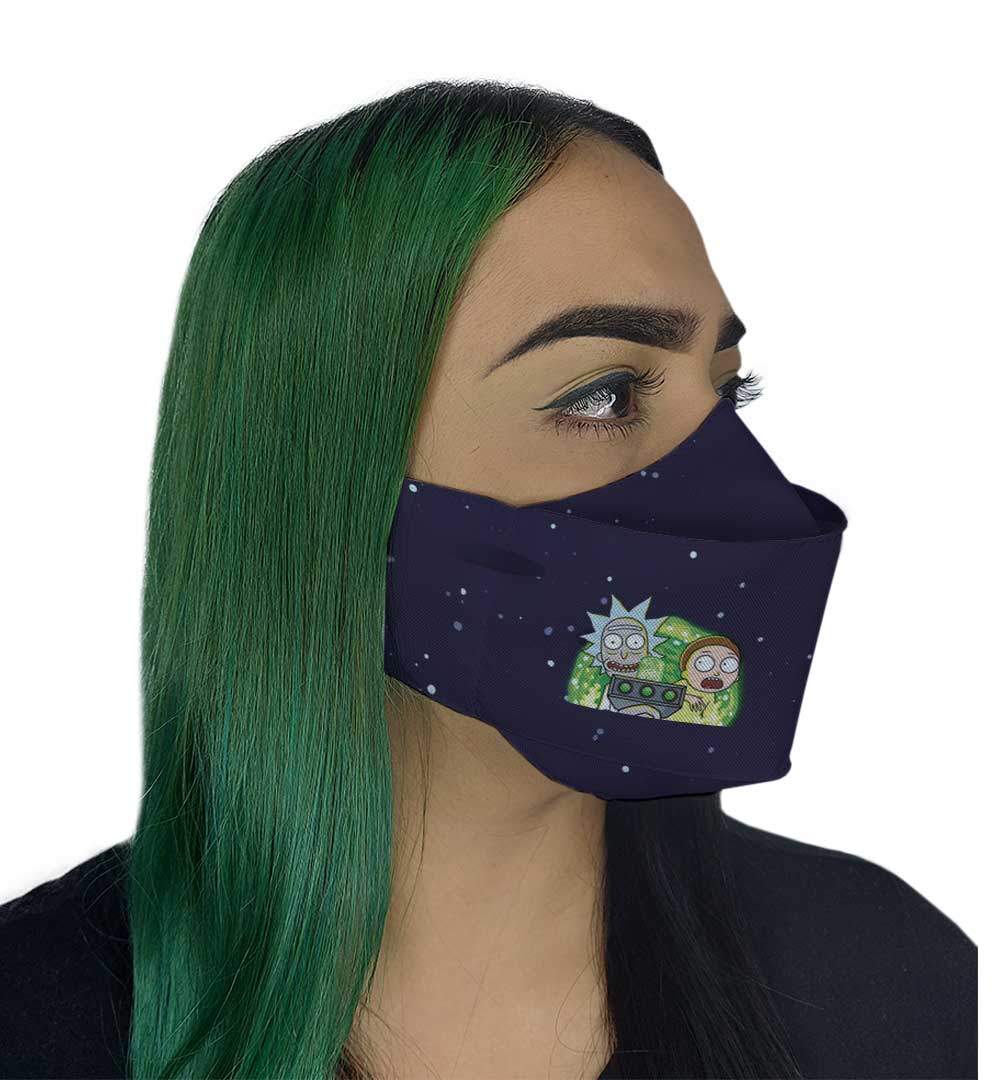 Máscara 3D - Cientista Louco