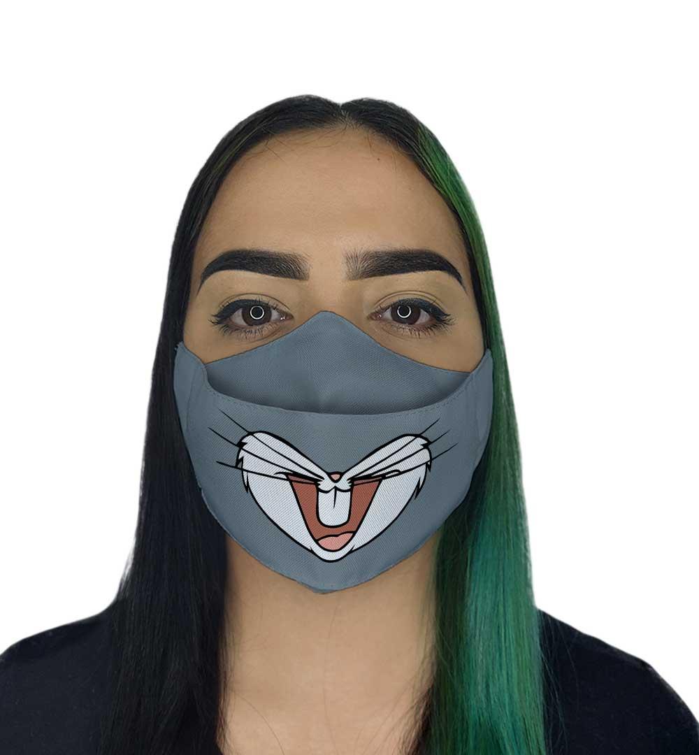 Máscara 3D - Coelho