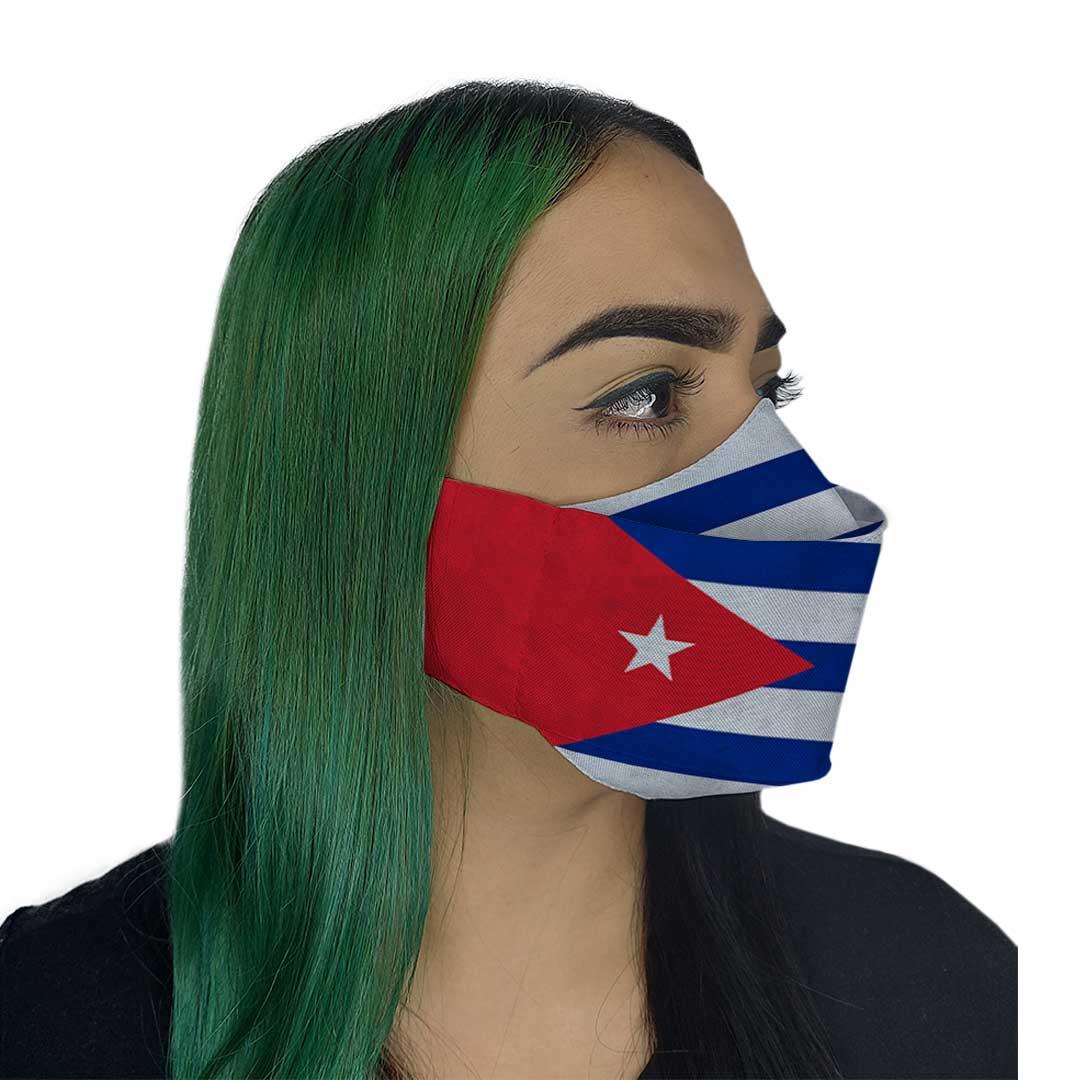 Máscara 3D - Cuba