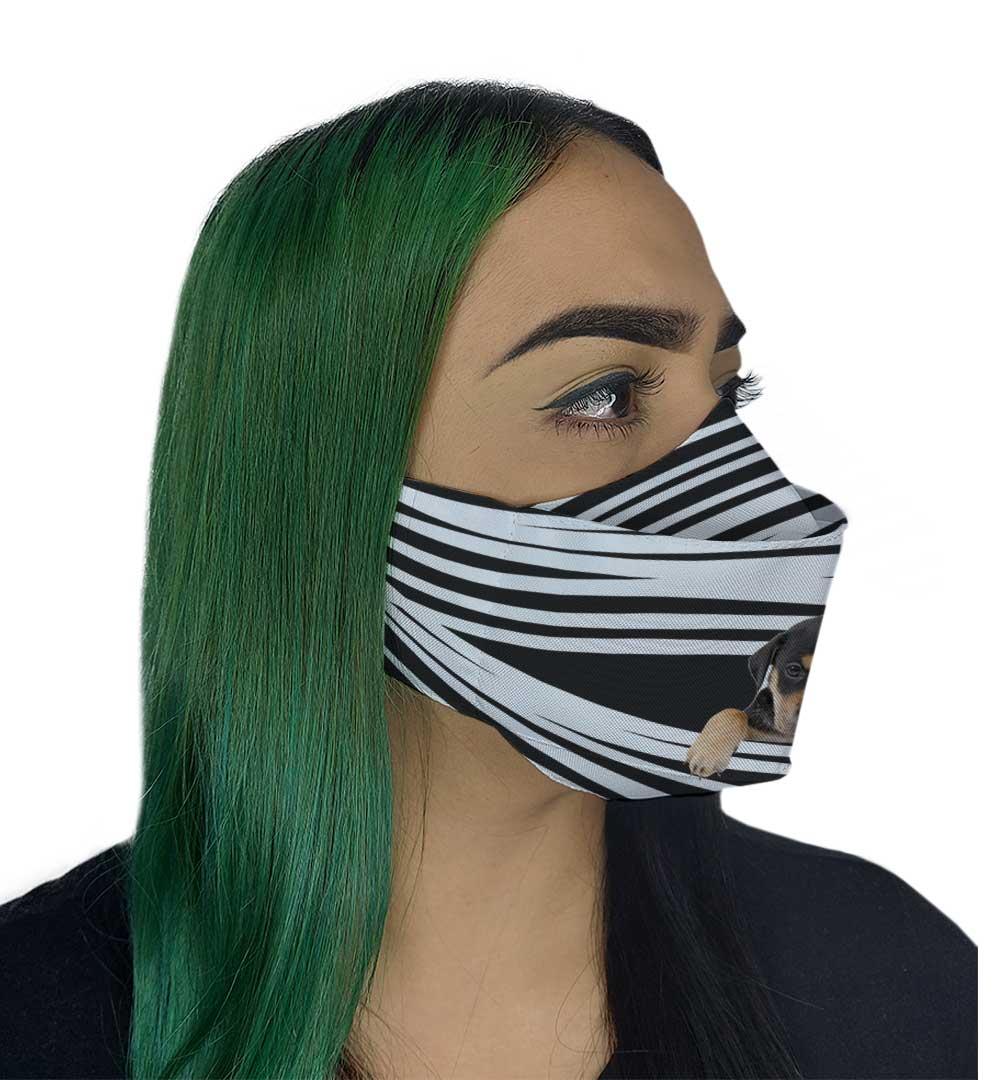 Máscara 3D - Dog VIII