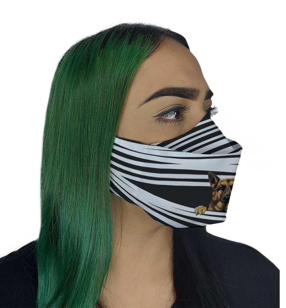 Máscara 3D - Dog VII