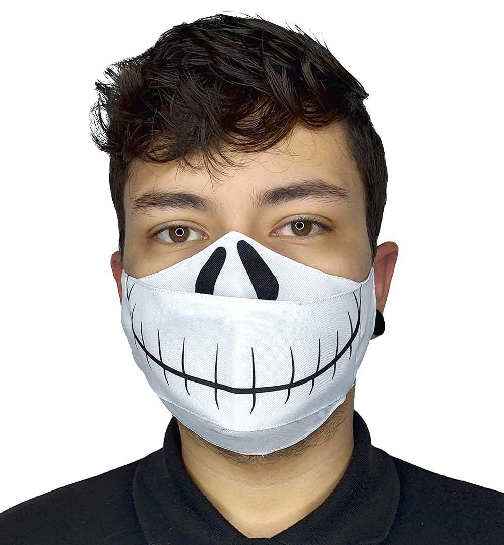 Máscara 3D Divertida