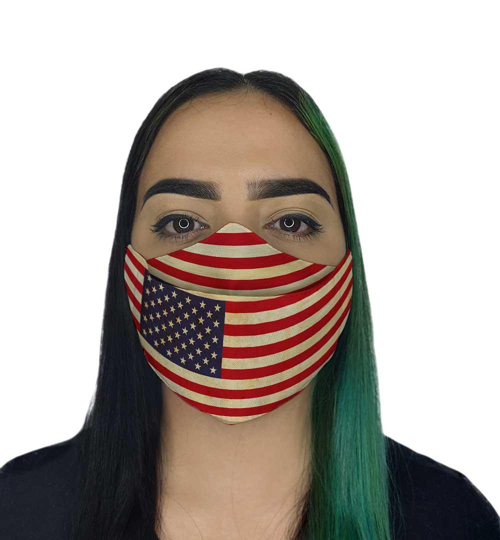 Máscara 3D - EUA