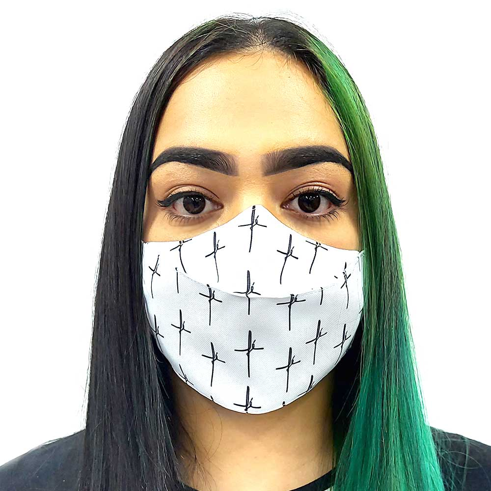 Máscara 3D Fé