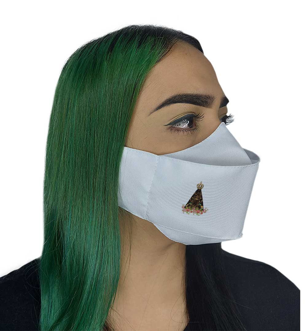 Máscara 3D - Nossa Senhora  Aparecida ll